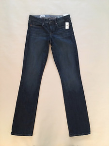 "NEW GAP 1969 Blue Jeans Size 25""  0r Real Straight Women's"