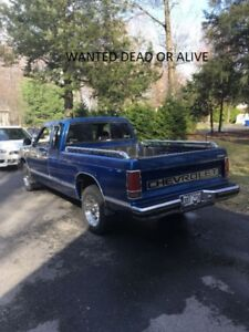 WANTED Chevrolet S-10 or GMC S15 4X4 1993 AND OLDER