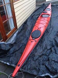 Impex force 4 - fiberglass kayak Hobart CBD Hobart City Preview
