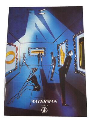 Waterman Paris 44 Page Collectors Catalog, 2001, Fine Writing