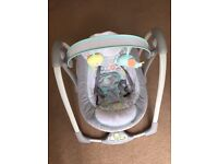 6 months old ToysRus baby swing for sale battery operated (Ingenuity)