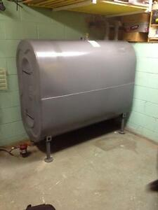 OIL TANK REMOVAL AND INSTALLATION