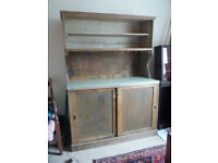 "Classic Wooden 2 peice Kitchen Dresser & Shelf 53x74x24"" or 135x188x61cm"