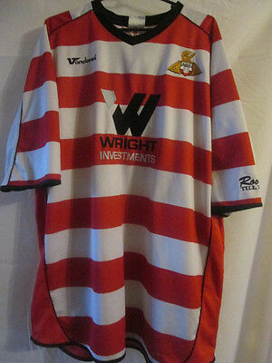 2008-2009 Doncaster Rovers Home Football Shirt Size XXL  /22433 image