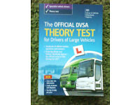 Official DVSA Theory test for drivers of large vehicles. LGV, bus.