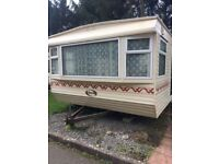 STATIC CARAVAN FOR SALE- DOUBLE GLAZED& CENTRAL HEATED - ONLY £5950!!