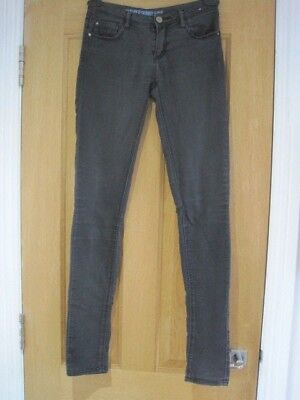 Women's DENIM & CO. ultra soft black skinny jeans size 6 better for size 8