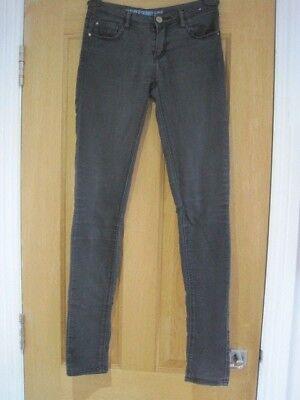 Women's DENIM & CO. ultra soft black skinny jeans size 6 better for size 8 (Best Fitting Jeans For Black Women)