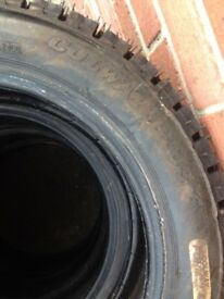Mud and snow rally tyres, 175/55/15, tread as new, to clear, 5 off, £99