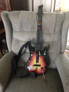 Guitar Hero guitar for PS2