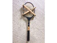 Vintage wooden Dunlop Tennis racquet