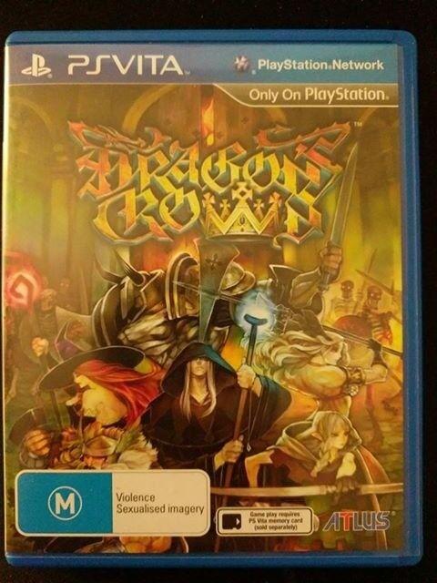 Dragon's Crown Playstation PS Vita