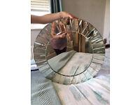 Laura Ashley Round Mirror