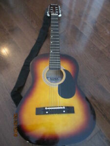 Nova Guitar with Case and Instruction Booklet