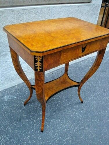 Biedermeier  small side table