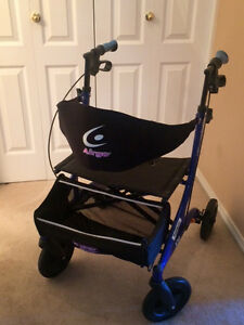 Airgo Excursion X20 Rollator and Walker - Standard Height (Blue)