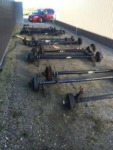 Trailer Axles/Springs/Hubs/Brakes London Ontario image 1