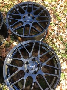 """4 Mag wheels jantes roues 5x114.3 Size 18""""x8.0"""""""