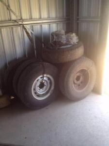 Split rims, tyres & Tubes, suit Nissan Patrol or Landcruiser Waterford Logan Area Preview