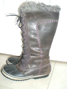 SOREL Cate The Great Winter Boots, Size 8