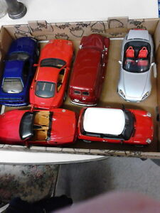 Diecast - 1:24 AND 1:18 Diecast Metal cars without boxes