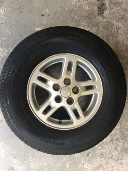 LAND ROVER DISCOVERY 2 ALLOY WHEELS