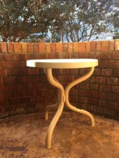 White outdoor/plastic table Darling Point Eastern Suburbs Preview