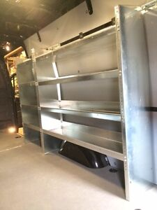 New van shelving / rack Mercedes Sprinter Transit Promaster