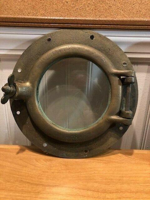 1909 Bay Yacht Solid Brass Round Porthole