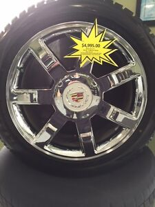 "22"" OEM Cadillac Escalade Winter Package"