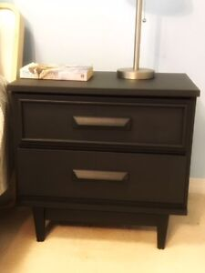 Two- drawer End Table