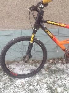 Cannondale mountain bike