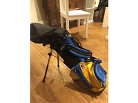 US Kids Golf Set - with 4 clubs - EXCELLENT Cond. IMMEDIATE SALE