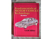 Fundamentals of motor vehicle technology (Reduced Price further)