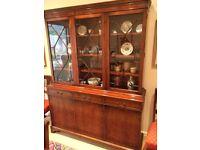 Regency style sideboard and dresser