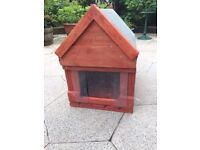 Dog Kennell / House Suit Small Dog Newly made Real Wood