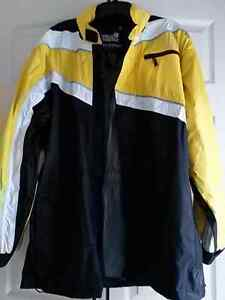 Motorcycle/Scooter Rain Suit & Leather Gloves - $70 for both