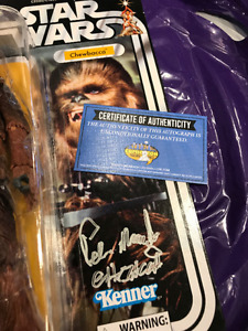 SIGNED 40th Anniversary Star Wars Black Series Chewbacca SIGNED!