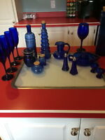Cobalt Blue Glass Collection
