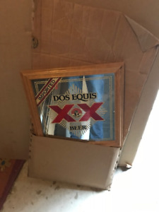 Beer Mirrors -Dos Equis, Bass