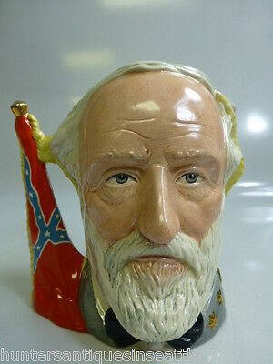 "Royal Doulton  ""Ulysses S. Grant/ Robert E. Lee"" Large Toby Jug  D-6698 7''"