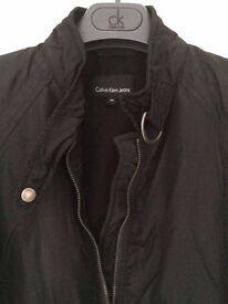 Calvin Klein Ladies Bomber jacket. Unworn. Fleece Lined. Size M, fits 14/16