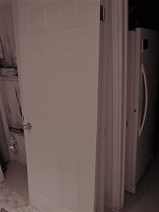 4 White Colonial Style Doors