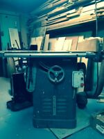 Banc de scie Rockwell 10'' unisaw / Table saw Rockwell