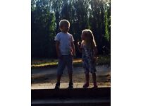 Part time nanny needed for two fun kids:3/4 days a week after school & school holiday cover