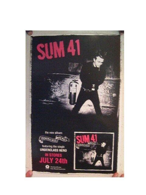 Sum 41 Poster  Underclass Hero Sum41