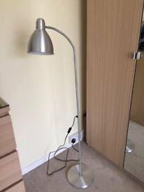 Tall Lamp - Silver