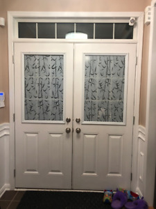 Exterior Double Door Entry - 90% off retail