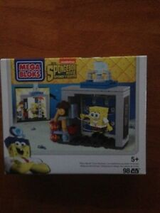 THE SPONGEBOB MOVIE SPONGE OUT OF WATER MEGA BLOKS PHOTO BOOTH