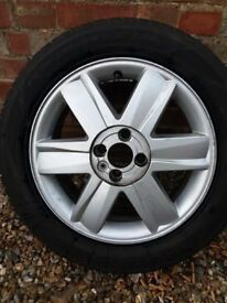 Nearly new tyre for Renault Megane 16 ""